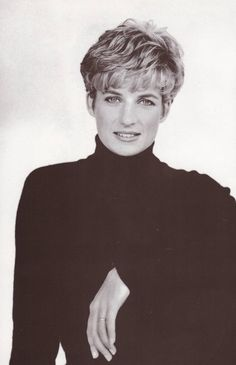 Princess Diana.  This was my favorite photo shoot ever!  Wore my hair like this for years!