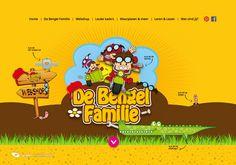 Maak kennis met de leukste familie van Nederland. Grappig en leerzaam en vol met gratis kleurplaten, fotoframes en masker. http://www.debengelfamilie.nl