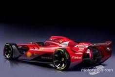 フェラーリ、F1コンセプトカーを発表: 2015年2月17日