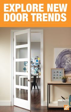 Add style and natural light to your home with an easy upgrade that will be sure to impress any visitor. From classic looks to modern, these doors are sure to elevate and open up any room. Shop The Home Depot for the latest in interior doors.