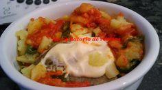 """Recopilatorio de recetas thermomix: Bacalao con tomate y patatas panaderas en thermomix """"Varoma"""""""