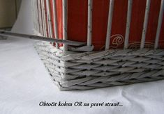 Storage Basket from Old Newspaper2 Wonderful DIY Unique Storage Basket From Old Newspaper