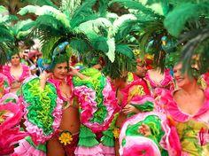 Ambiance sud-américaine au carnaval de Tenerife, îles Canaries (Espagne)