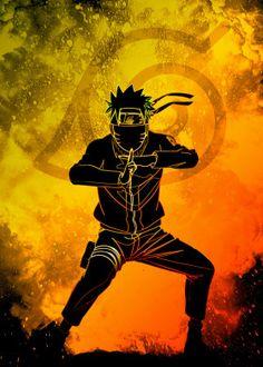 The Soul of the Ninja Anime & Manga Poster Print Naruto Wallpaper Iphone, Naruto And Sasuke Wallpaper, Cool Anime Wallpapers, Wallpaper Naruto Shippuden, Animes Wallpapers, Anime Naruto, Naruto Sasuke Sakura, Naruto Uzumaki Shippuden, Naruto Art