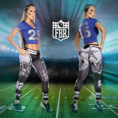 Fitness Fiber Sport Leggings Dallas Cowboys Tights