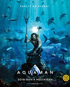 It's the moment that many die-hard DC Comics fans have been waiting for — the trailer for Aquaman, featuring Hawaii's own Jason Momoa, is set to release this weekend. Aquaman Film, Aquaman 2018, Aquaman Comics, Jason Momoa Aquaman, Arthur Curry, Patrick Wilson, Dc Comics, 2018 Movies, Movies Online