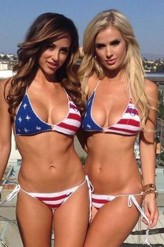 b259bad3654 12 Best patriotic images in 2019 | Bikini girls, Beautiful Women, Bikini