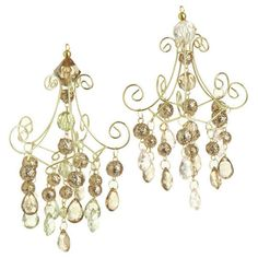 Gold Chandelier Ornament