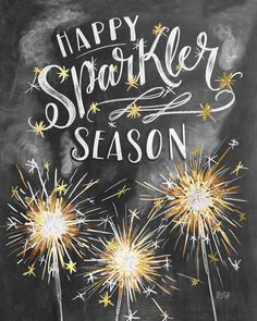 "1,030 Likes, 27 Comments - Valerie McKeehan (@valeriemckeehan) on Instagram: ""Happy official first day of summer, friends! Let sparkler season begin! ✨✨✨ This card is the part…"""