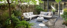 Create an Urban Oasis: Plant Care Tips | west elm Outdoor Rugs, Outdoor Spaces, Indoor Outdoor, Outdoor Living, Outdoor Decor, Outdoor Sofas, Rustic Outdoor, Outdoor Gardens, Backyard Furniture