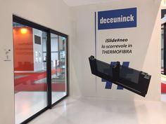 iSlide#neo - lo scorrevole in Thermofibra - in esposizione allo stand Deceuninck al #MADEexpo.