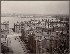 Back Bay, Boston, Mass, circa 1905