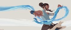 Korra by *TaoPaint on deviantART