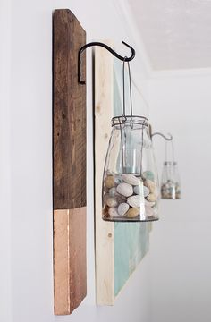 Rustic Wooden Wall Hanging
