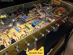 Marshall Major in for service & repair - Same amp used by Richie Blackmore of Deep Purple!