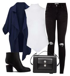 """""""Untitled #78"""" by iahast on Polyvore featuring Topshop, Alexander Wang and Balenciaga"""