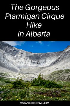 The Ptarmigan Cirque hike in Kananaskis Country accessed from the top of Highwood Pass - family-friendly and quick to reach the high alpine Canada Travel, Travel Usa, Alberta Travel, Road Trip, Canada Destinations, Utah Hikes, Visit Canada, Colorado Hiking, Mountain Hiking