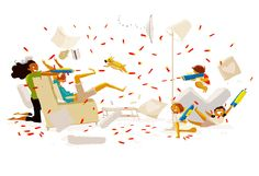 You know this means (nerf) war!  #pascalcampionart.  Just another Sunday Morning at home.
