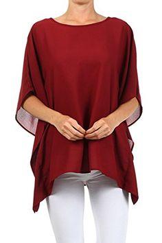 Women's Casual Shirt Tops Plus Size Blouse Clothing Burgu... https://www.amazon.com/dp/B01ANDY9AA/ref=cm_sw_r_pi_dp_b5ZAxb3FNRHZH