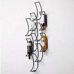 metalen+kunst+aan+de+muur+muur+decor,+de+geometrie+van+het+wijnrek+muur+decor+–+EUR+€+219.51