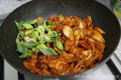 Korean Food, Curry, Pork, Food And Drink, Healthy Eating, Chicken, Meat, Cooking, Ethnic Recipes