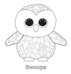 Ty Beanie Boos Coloring Pages Ty Beanie Boo Coloring Pages Download And Print For Free  Boos .