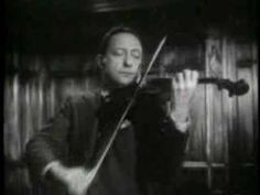 Jascha Heifetz plays March by Prokofiev