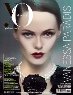 Vanessa Paradis on the cover of Yo Dona Magazine (May 26, 2012) — Hair by Serena Radaelli, Makeup by Francesca Tolot, Manicure by Debbie Leavitt. All for Cloutier Remix