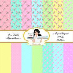 Kit de 14 papéis digitais em 300dpi, 30x30cm. Para adquirir, faça a compra, na forma de pagamento escolher negociação por e-mail. Em breve você receberá um link por e-mail para baixar o kit.