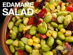 #BiggestLoser #KidFriendly #Recipe: Edamame Salad