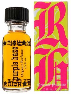 VANILLA SCENTS: Purple Haze by Rich Hippie - Sweet and sensuous #floral with Madagascan #Vanilla Bean, crushed Ylang Ylang flowers, Bulgarian Damascena Rose, French Lemon Peel and Chinese #citrus extracts.
