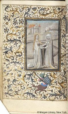 Book of Hours, MS M.285 fol. 50v - Images from Medieval and Renaissance Manuscripts - The Morgan Library & Museum