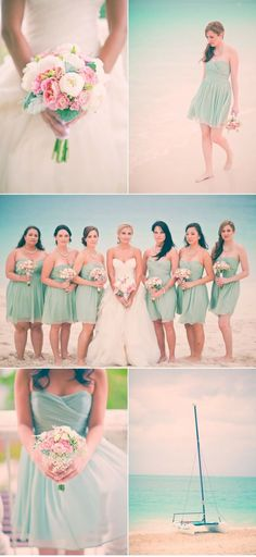 Not my wedding colors, but these bridesmaid dresses are too cute. Perfect Wedding, Dream Wedding, Wedding Day, Gold Wedding, Diy Wedding, Wedding Mandap, Wedding Stage, Wedding Receptions, Spring Wedding