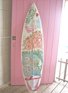 Surf Board  Rad~#glo #lampsplus #makesummerbright #giveaway
