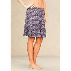 Printed Whatever Skort by Athleta- throw it on and you are out the door (I guess u can put a shirt on)