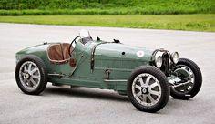The Bugatti Queen's 1927 Type 35 Grand Prix Racer.