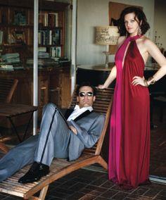Elisabeth Moss & Jon Hamm - Los Angeles Confidential by Jeff Lipsky, October 2009