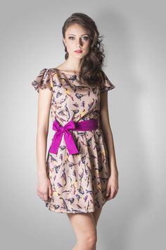 Vestido Love Birds - Wall Mends