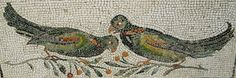 Birds - mosaic 2nd century AD from Rome - Archaeological Museum Palazzo Massimo in Rome by * Karl *, via Flickr