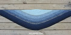 Joyful Josie Shawl - Free crochet pattern to make this #round #crochet #shawl on wilmade.com (including video tutorial)