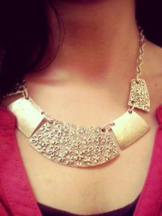 #COllana in #Metallo - #Frida #Creazioni