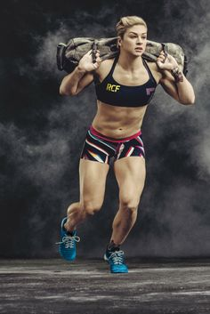 Reebok athletes work out for the new spring look book. [Photo by Carlos Serrao]