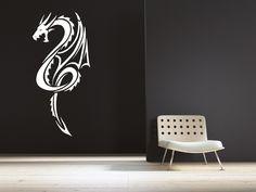 Chinese Dragon Wall Decal. $39.99, via Etsy.