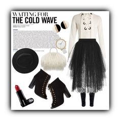 """Waiting for the cold wave"" by anabritt on Polyvore featuring moda, Joseph, Elie Saab e Skagen"