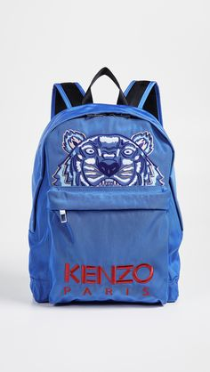16bd48baca KENZO Tiger Blue Capsule Backpack Japanese Street Fashion, Parisian Style,  Kenzo, Backpack,