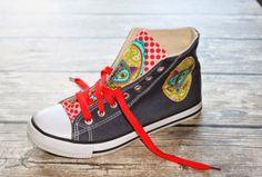 Farbenmix Schuhe aufpimpen Anleitung