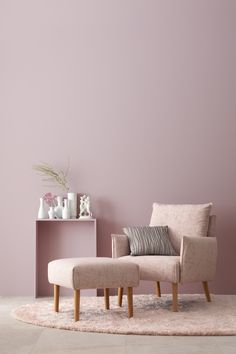 coral home accents Elegantes Puderrosa Paint Colors For Home, House Colors, Living Room Colors, Living Room Designs, Room Decor Bedroom, Living Room Decor, Pastel Interior, Living Room Background, Bedroom Layouts