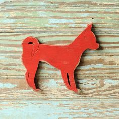 Chiwahwah Dog Sign Wall Art Barnwood Red Wood by SlippinSouthern, $39.00
