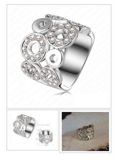 Small Circles Pattern Ring  - Lydia's Jewelry http://krat.im/6wa