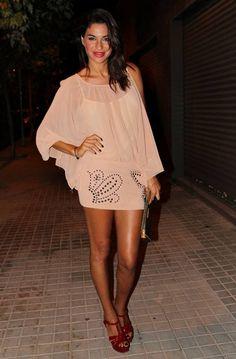 Nude De Noche  #SilvianHeach #Dress